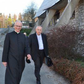 Trzecie spotkanie z biskupem legnickim Zbigniewem Kiernikowskim w Karpaczu