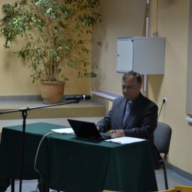 Spotkanie z ks. dr Stanisławem Szupieńko w Karpaczu