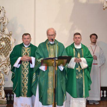 Pożegnanie księdza proboszcza Zenona Stonia i księdza Romana Lubańskiego
