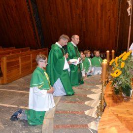 Pierwsze nabożeństwo ku czci św. Wawrzyńca